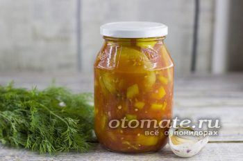 Жареные баклажаны в томате