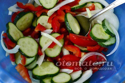 посолить салат