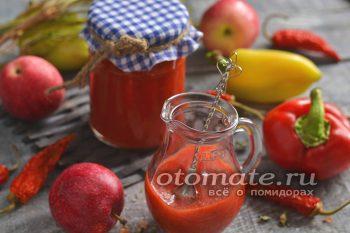 кетчуп из помидоров с яблоками