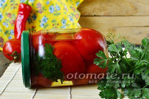 томаты на зиму с аспирином