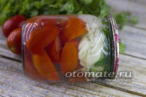 маринованные помидоры по-армянски