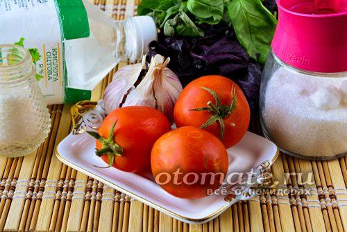 продукты для маринования