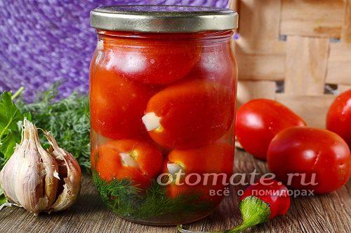 маринованные помидоры готовы