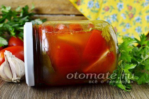помидоры в кетчупе чили