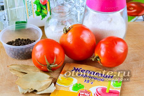 ингредиенты для консервирования