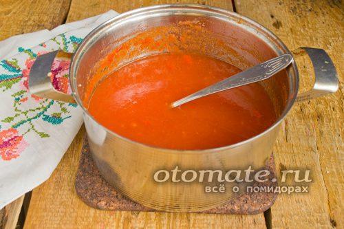 кипятим соус