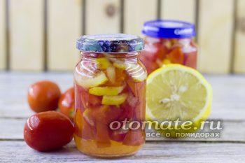 десерт из томатов