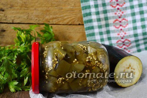 баклажаны с кетчупом чили