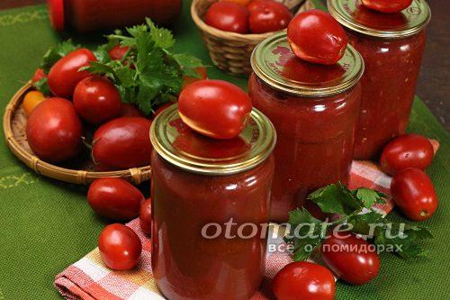 помидоры в собственном соку готовы