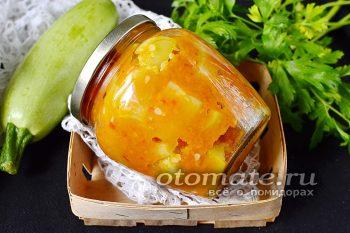 салат из кабачков «Татарская песня»
