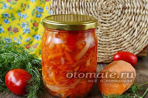 салат рыжик готов