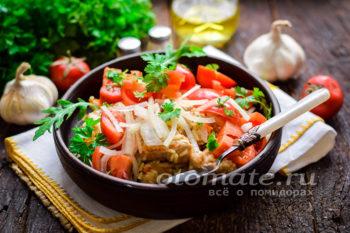 Узбекский салат к плову