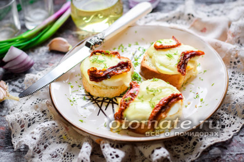 бутерброды с сыром сулугуни