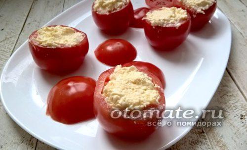 Начиняем помидоры