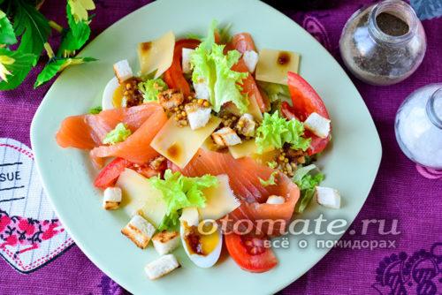 """салат """"Цезарь"""" готов"""