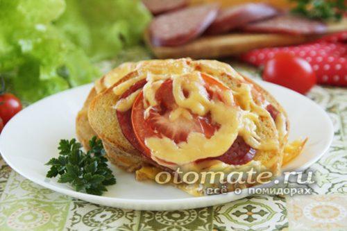 бутерброды веером