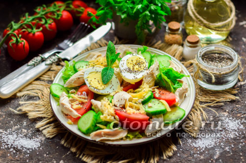 """салат """"Свежесть"""" готов"""
