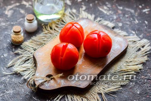 мякоть томатов удалить