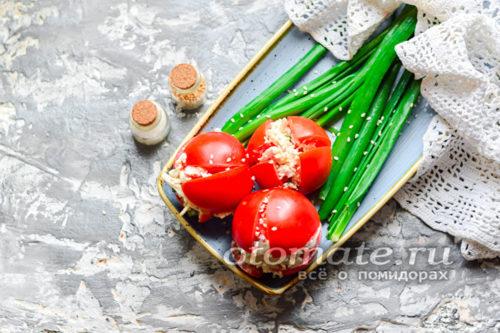 """закуска """"Тюльпаны"""" готовы"""