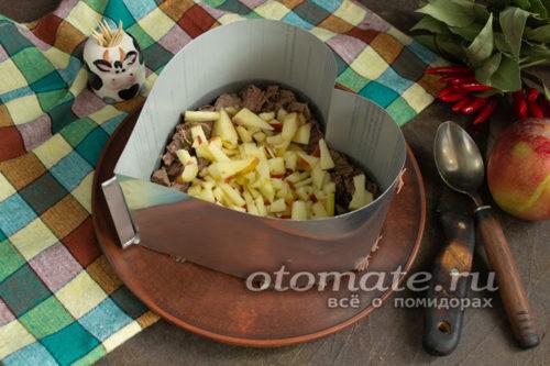 яблочный слой