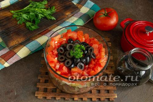 """салат """"Коварство и любовь"""" готов"""