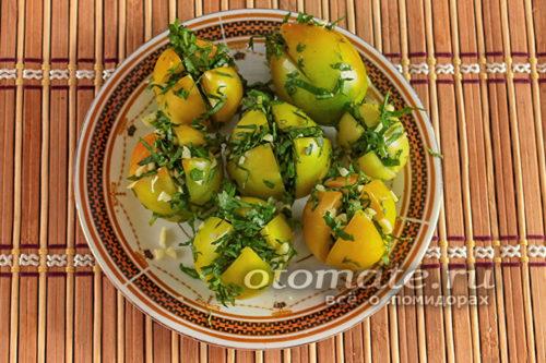 фаршируем томаты