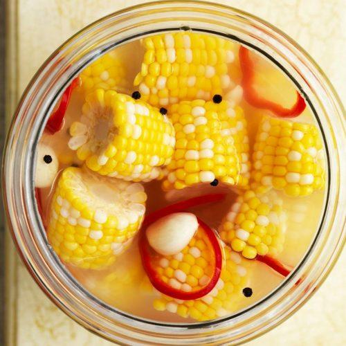Кукуруза с перцем