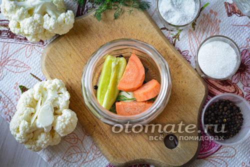 морковка и перец