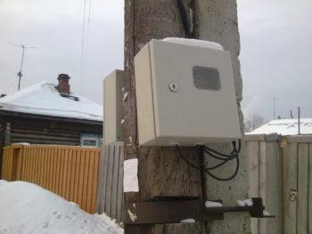 Электрический счетчик зимой: снимать или нет