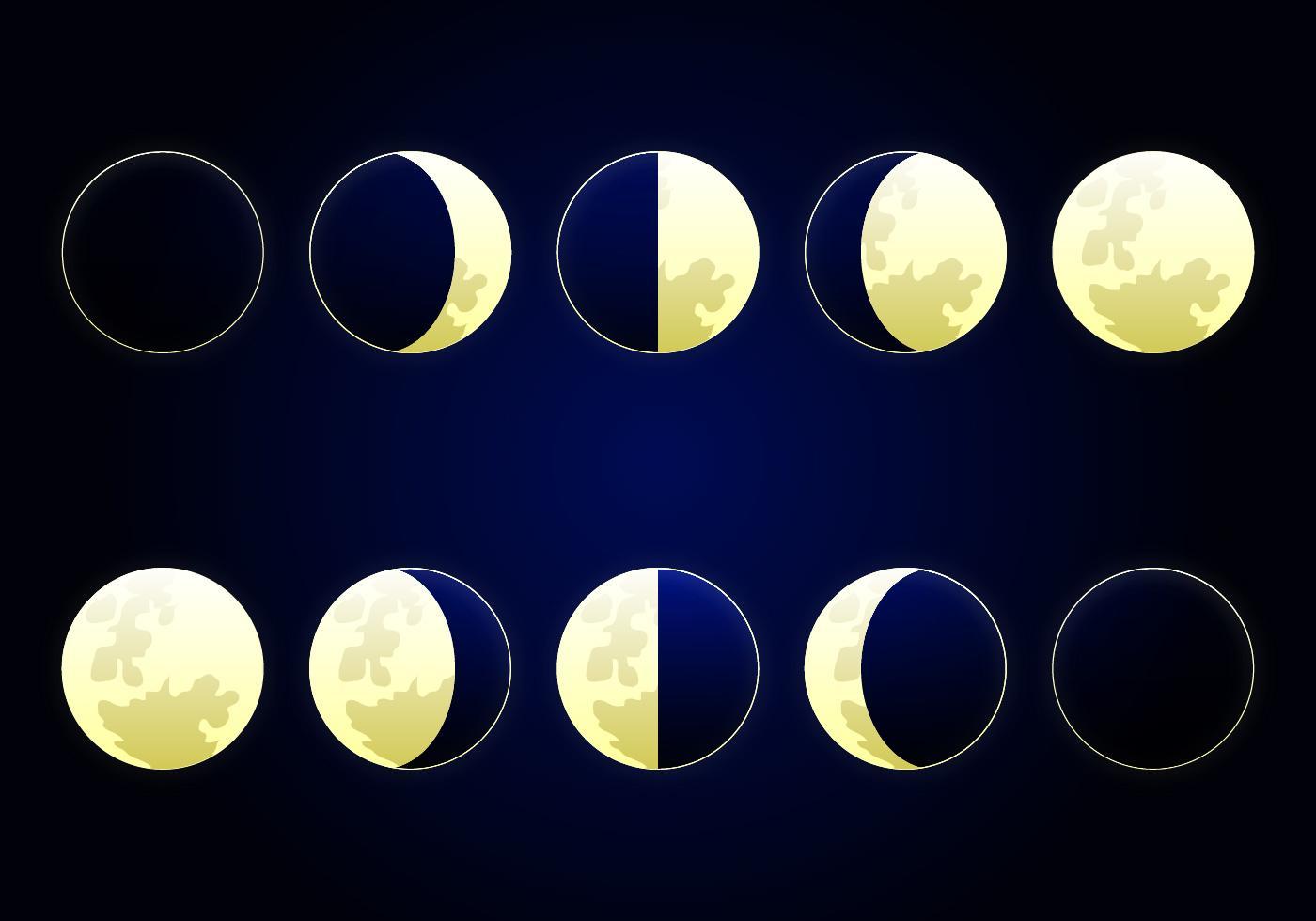 это фото луны в разных фазах самые шокирующие