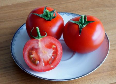 Прожилки в помидорах