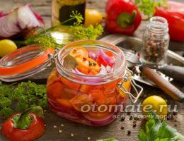 Салат Лакомка из овощей