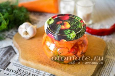 вкусная морковка