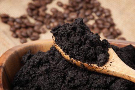 Мульча из кофейной гущи