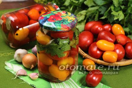 консервированные томаты