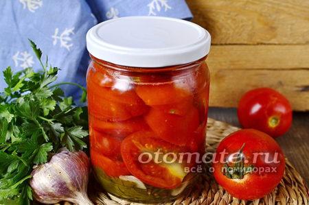 маринованные помидоры дольками