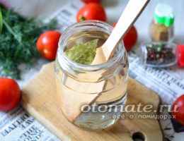 рассол томатов