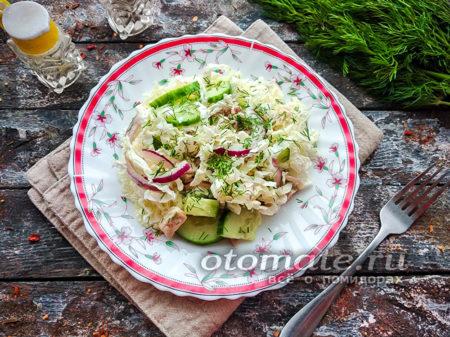 салат с овощами